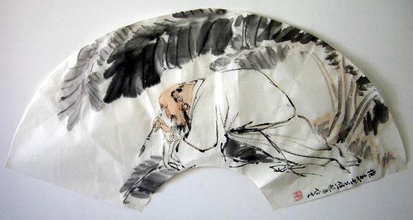 扇面国画花鸟作品欣赏 花鸟扇面国画作品 古代花鸟扇面国画作品